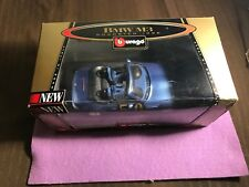 BMW M3 Roadster Burago Blue 1996 1/24 Scale Bijoux Collection Itlay Lot#0600