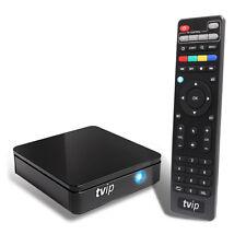 TVIP 412 IPTV Box with WLAN Stalker Portal M3U HEVC H.265 Stream Media Player