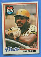 1978 Topps Baseball  Dave Parker #560 Pirates  (NMMT) *3550