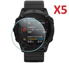 5 X Tempered Glass Screen Protector For Garmin Fenix 6X / 6X Pro