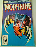Marvel Wolverine Comic Book, Vol. 1 #2 Limited Series OCT 1982, Bronze Age