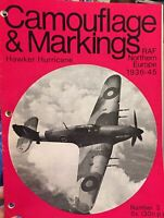Camouflage & Markings Magazine Hawker RAF Northern European No.3