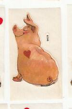 Vintage Suzy's Zoo Piglet Sticker Sheet