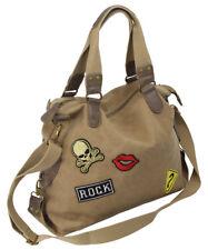 Ladies Handbag Shoulder Bag in Canvas Shoulder Bag for Women Top