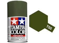 Tamiya 85005. Spray TS-5. Pintura esmalte color Verde Oliva