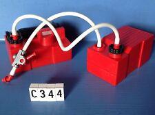 (C344) Playmobil pompe + réservoir caserne pompier 3880 3175 5361 4819