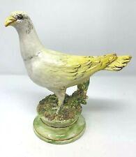 """Vintage Freeman Leidy Majolica Ceramic Bird Sculpture 9 3/4"""" Ceramic Originals"""