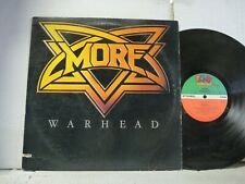 """VG++ """"MORE WARHEAD"""" LP FROM 1981 ATLANTIC HEAVY METAL    $5 COMBINED SHIP USA  Q"""