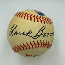 Hank Borowy 1945 Chicago Cubs Single Signed Baseball With JSA COA
