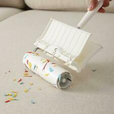 Lengthened Tear-off Lint Roller Dust Hair Roller Carpet Cleanable Sticky Hair x