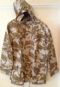 Windproof Desert Camouflage Jackets very good condition Grade 1