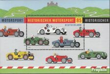 BRD (BR.Duitsland) Blok 75 postfris 2009 Historisch Motorsport
