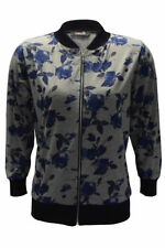 Viscose Bomber Floral Coats & Jackets for Women