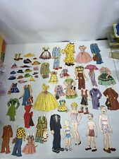 Vintage Blondie Dagwood Cookie Alexander Paperdoll Lot Clothes And Accessories