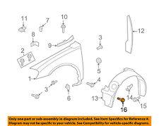 GM OEM-Fender Liner Splash Shield Screw 10293818