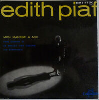 "Edith Piaf Mon Manège A Moi 7"" EP Mono Red Vinyl Schallplatte 52554"