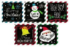 15 Xmas Holiday Winter Stickers Kid Party Bag Filler Favor Stocking Stuffer