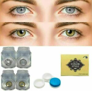 Fashionabl zero power Eye lens for Parties& occasionally, Gray & Hazel Color