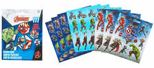 Avengers Party Supplies Favours STICKER BOOKLET 111 Stickers 9 Pages Genuine