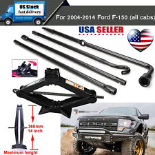 Spare Tire Tools For Ford 2004-2014 F150 Pickup Truck and Scissor Jack w/ Handle