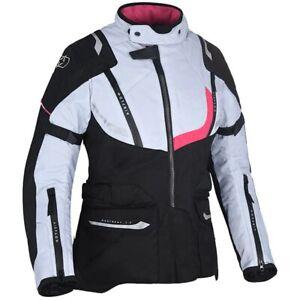 Oxford Montreal 3.0 Women's Waterproof Motorcycle Motorbike Jacket Black White