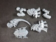 40K Tyranid Carnifex : Complete Main Body Legs Tail Carapace Assembly (7 Parts)