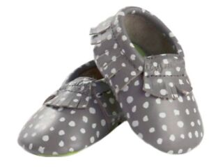 Itzy Ritzy Moc Happens Moccasins Shoes Baby Infant Leather Boys Girl Unisex