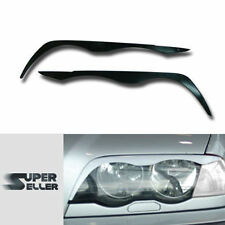 BMW 3-SERIES E46 SEDAN  EYEBROWS EYELIDS 98-02 HEADLIGHT LAMP COVER TRIM