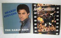Shakin Stevens The early Days+Geatest Hits Vinyl  2 LPs  Musik