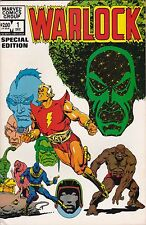 Marvel Comics! Warlock! Issue 1! Special Edition!