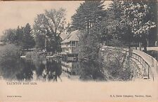 "TAUNTON, MA ~ THE BOAT CLUB ~ TUCK Pub. ""TAUNTON"" SERIES ~ c1904 #1"