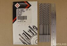 10 Cleveland Drill Bits 23 Taper Length Hss Co Cobalt Crn Coated 2575 Parabolic