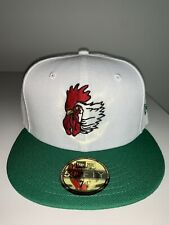 New Era 59FIFTY Port City Roosters Hat MILB Vintage NC Mariners 1995-1996 NWT