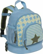 Original Lässig 4Kids Mini Backpack Kindergartenrucksack Hellblau Beste Tasch...