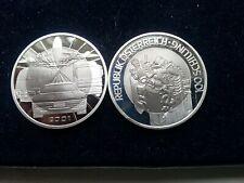 Österreich 100 Schilling 2001 Mobilität Bimetall Silber und Titan **RAR**