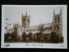 POSTCARD YORKSHIRE SELBY ABBEY 1936
