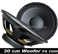 "30cm / 12"" DISCO-PA-MUSIKER-PARTY Lautsprecher Woofer 600 WATTmax. MESSEANGEBOT"
