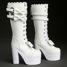 [wamami]49# White 1/3 BJD SD DZ Dollfie Synthetic Leather Boots/Shoes