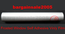 1 x Frosted Window Film Vinyl Self Adhesive Frost 45cm x 9m