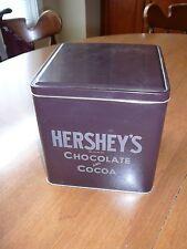 Hershey's Square Metal Tin