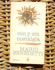 Con y sin nostalgia, Mario Benedetti, Novena edición, Siglo XXI Editores, 1984