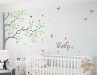 Tree wall decals wall decor nursery wall mural children room stickers KR076