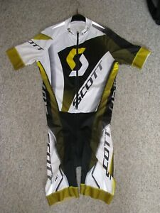 Scott Race Body Anzug Rennrad MTB Hose Trikot Triathlon