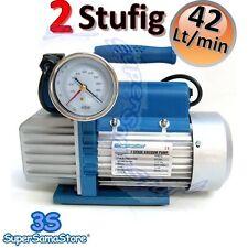 3S NEU Vakuumpumpe 2 STUFIG 42 L/MIN Unterdruckpumpe mit elektrischem Ventil