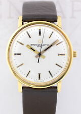 Eterna 18K Gold No-Date Dresswatch 34,5mm Unisex Klassiker Automatic Cal. 1456U