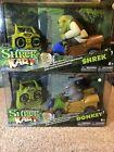 Shrek Kart - Donkey & Shrek - R/C Cars Sealed Rare!!