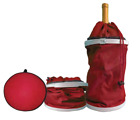 Chill Mate Pouch Red Multi Purpose Portable Collapsible Wine/Beer/Water Cooler