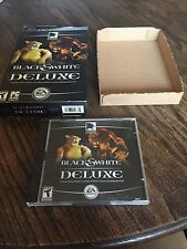 Black & White Deluxe EA PC Game Rare For XP And Others Cib PC3