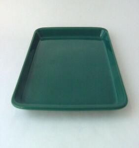 Arabia Teema Kaj Franck Tablett Schale Servierplatte Teller grün ohne Stempel