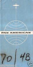 Ticket Jacket - Pan American - Blue - London Ground Sticker Back c1950's (J1896)